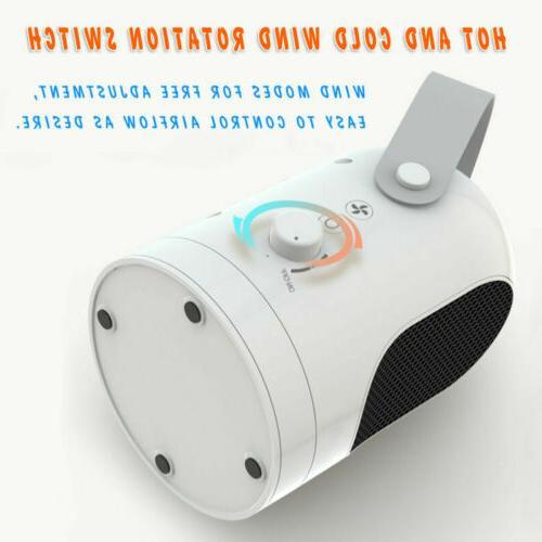 1000W Space Office Warmer Fan Mini Air Heater