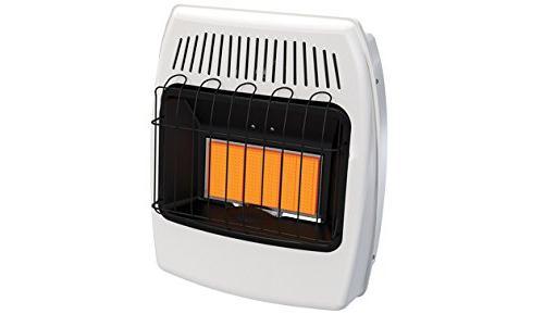 vent radiant heater lp 15000