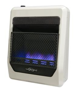 Lost River Ventless Dual Fuel Blue Flame Gas Space Heater,Ve