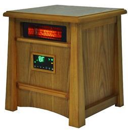 LifeSmart LS-8WIQH-LB Quartz Infrared Heater 8 Element w/Rem