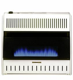 ProCom Large Ventless Blue Flame Gas Space Heater-Dual Fuel
