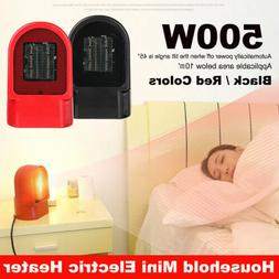 Mini 500W Ceramic Electric Heater Home Office Space Heating