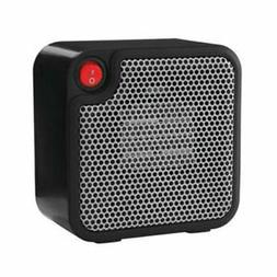Mini Ceramic Personal Space Heater Electric 250 Watts Black