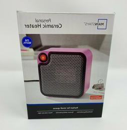 Mini Ceramic Personal Space Heater Electric 250 Watts VIOLET