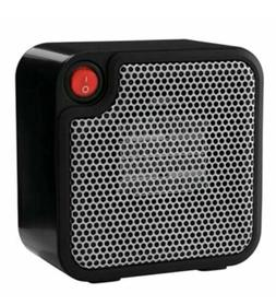 Mainstays Mini Ceramic Space Heater Electric 250 Watt BLACK
