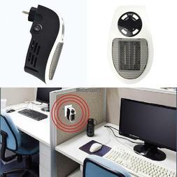 mini eu plug electric heater home office