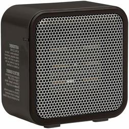 Mini Heater Personal Ceramic Small Space 500-Watt Black