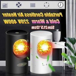 Mini Portable  Handy Space Heater Fan Electric Winter Warm O
