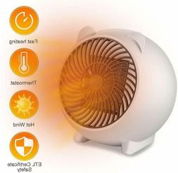 Mini Space Heater Portable Electric Overheat Protection for