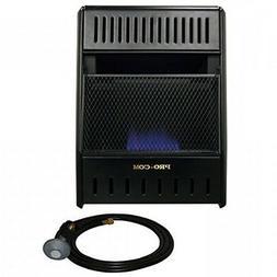 ProCom ML100HBAHR Propane, 10,000 BTU Gas Heater, Black