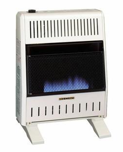 ProCom MNSD200TBA-BB Dual Fuel Blue Flame Ventless Wall Heat