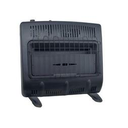 Mr. Heater Garage Space Heater Vent Free Blue Flame Natural