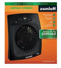 New! Holmes Eco Smart Indoor Electric Space Heater 1500W HEH