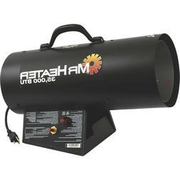 NEW Mr Heater 35,000 BTU Forced Air Liquid Propane Portable