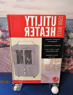 New Utility Space Heater 1500 Watts Control Thermostat Auto