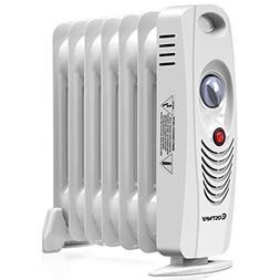 Costway Oil Filled Radiator Heater Mini Space Heater Portabl