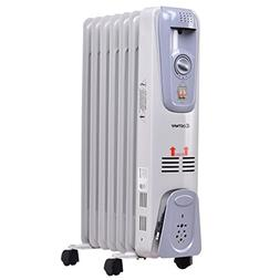93ffa574afc Costway Oil Filled Radiator Heater Portable Electric Home Ro
