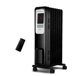 Electric Radiator Heater, 1500W Portable Oil Filled Radiator