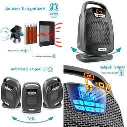 Opolar 1500/1000 Watt Digital Ceramic Space Heater, Ptc Osci