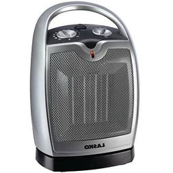 Lasko Oscillating Ceramic 1500W Heater with Thermostat & Coo