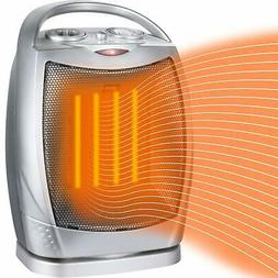 Oscillating Ceramic Electric Space Heater For Home Office Ki