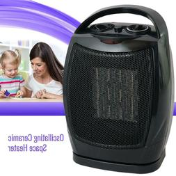 Oscillating Ceramic Space Heater Fan Home Office Portable, A