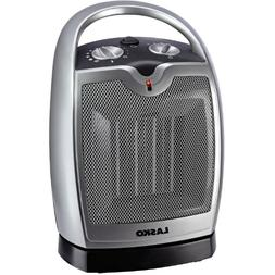 Lasko Oscillating Compact CERAMIC Heater with 3 Comfort Sett