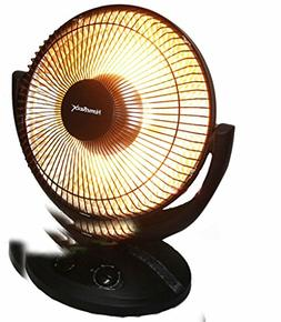 """800w 14"""" Oscillating Electric Halogen Heater Space Heating W"""