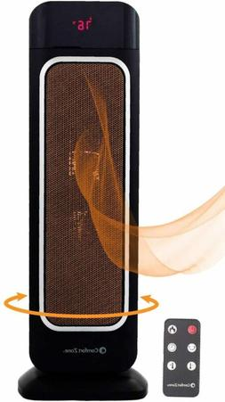 Oscillating Space Heater – Ceramic Forced Fan Heating