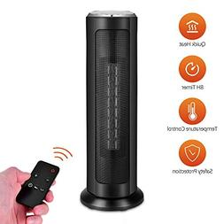 Trustech Oscillating Tower Fan - 48 Inch Quiet Tower Fan wit