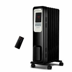 PELONIS PLN978-B Oil Filled Radiator Space Heater, Black