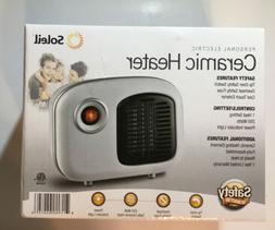 Soleil Personal Ceramic Mini Heater RETRO STYLE 250W Indoor