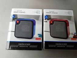 Mainstays Personal Ceramic Space Heater 250W - red,black,blu
