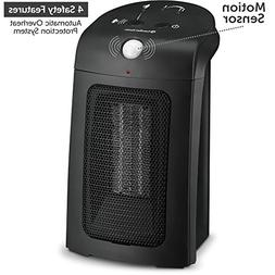 Personal Ceramic Space Heater with Motion Sensor - Automatic