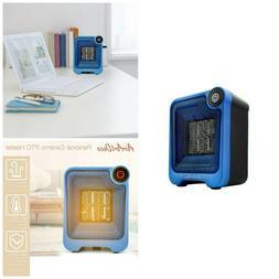 Personal Mini Ceramic Space Heater 500W Portable Electric Fa