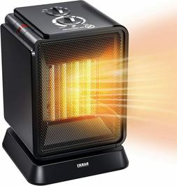 Personal Space Heater, 1500W Electric Ceramic Mini Heater