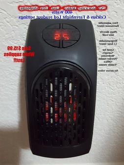 Personal Space Plug in 400 Watt Push Button Led Temperature