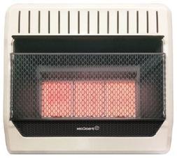 ProCom Plaque 30,000-BTU Vent-Free LP Gas Wall Heater
