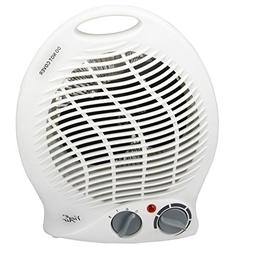Vie Air Portable 2-Settings Fan Heater with Adjustable Therm