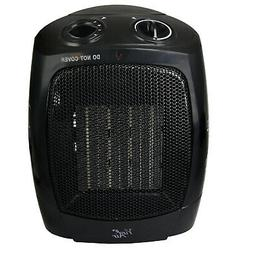 Vie Air Portable 3-Settings Ceramic Heater with Adjustable T