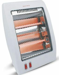 Mercury Portable 800W Quartz Personal Space Heater Energy Ef
