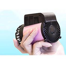Bearhoho Portable Air Conditioner, 3 in 1 Mini USB/Lithium B
