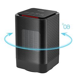 Portable Ceramic Heater, Oittm Electric Oscillating Heater M