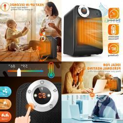 TRUSTECH Portable Ceramic Space Heater, 1500W with Adjustabl