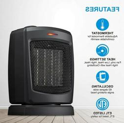 Portable Ceramic Space Heater Electric 1500W with Adjustable