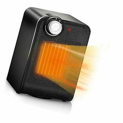 TRUSTECH Portable Ceramic Space Heater, 1500W with Adjustabl