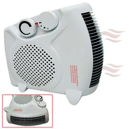 Portable Compact Electric Space Heater & Fan Floor/Upright A