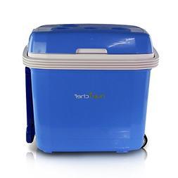 NutriChef Portable Electric Cooler Fridge / Food Warmer, 35
