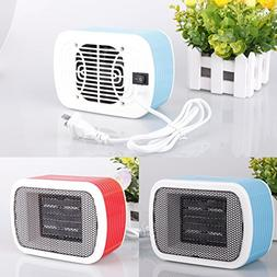 Sale! Portable Electric Fan Heater, Household Desktop Heatin