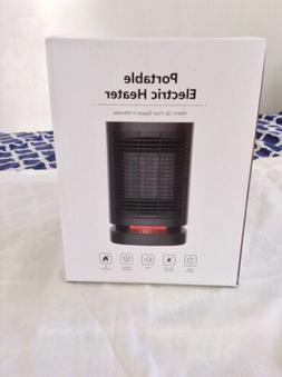 Portable Electric Heater Ceramic Space Fan Quiet 950w Warm W